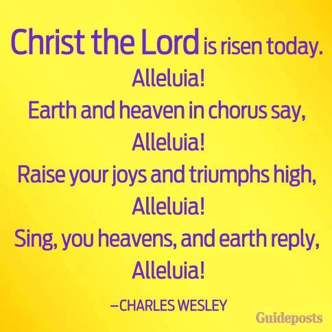 Guideposts: An inspiring prayer taken from the words of Charles Wesley