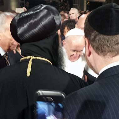 Guideposts: A snapshot of Pope Francis at the 9/11 service, New York City