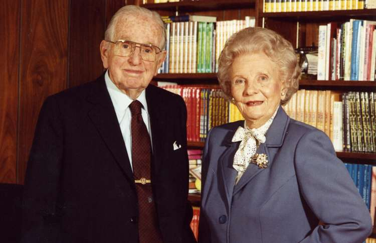 Dr. Norman Vincent Peale and Ruth Stafford Peale