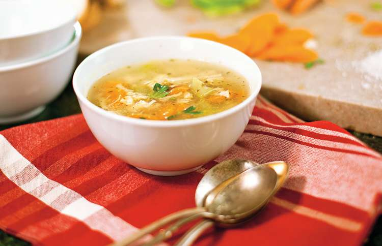 Guideposts: Leftover Turkey Soup Recipe