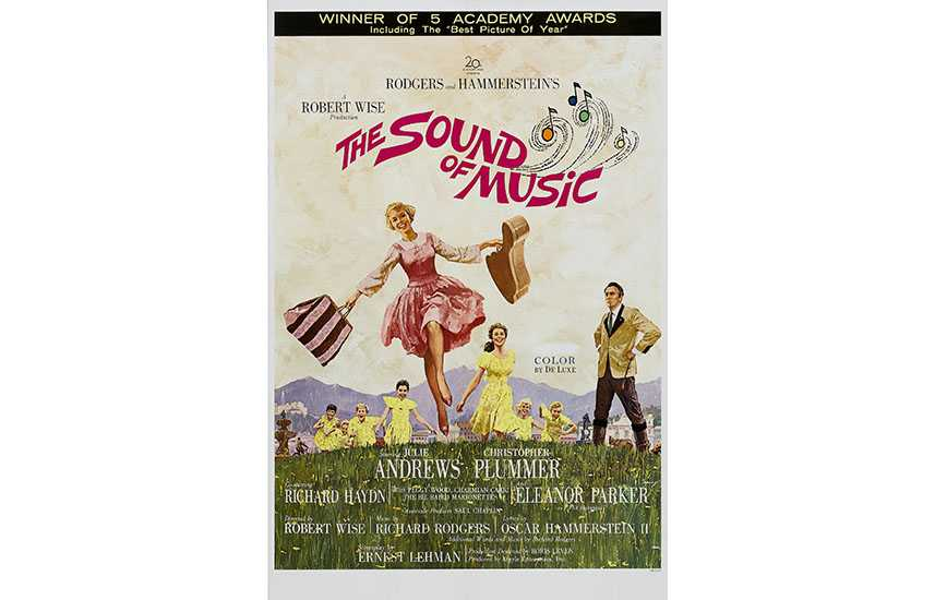 Film poster for The Sound of Music (1965)