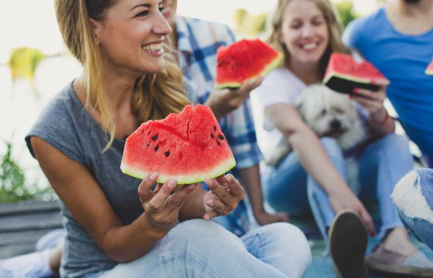 Healthy Summer Fruits to Add to Your Diet: Watermelon is 92% water, making it an ideal summer fruit. better living health wellness