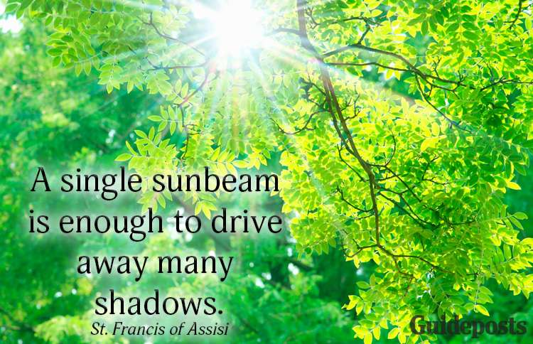 A summer quote from St. Francis of Assisi