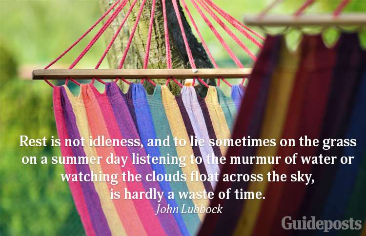 A summer quote from John Lubbock