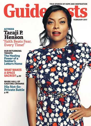 Taraji P. Henson on the cover of Guideposts magazine (Guideposts)