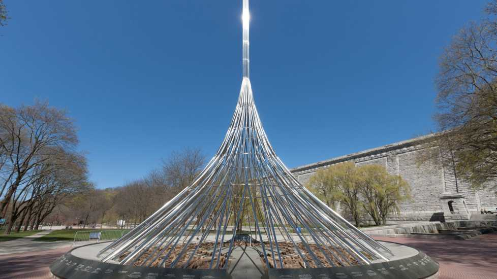 The Rising, Westchester County, New York September 11 memorial (Alamy)