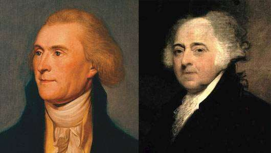 Thomas Jefferson and John Adams
