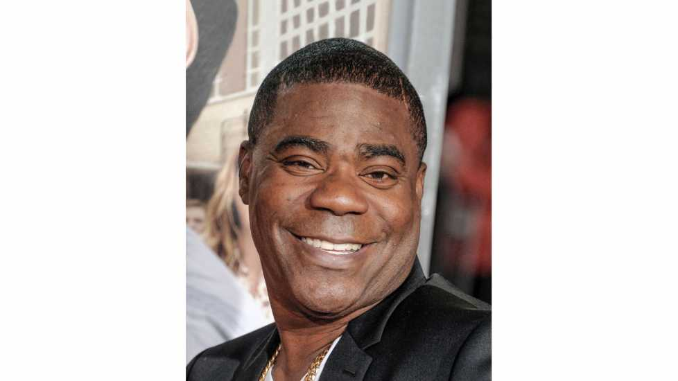 """Actor Tracy Morgan arrives at the premiere of Warner Bros. Pictures' """"Fist Fight"""" at Regency Village Theatre on February 13, 2017 in Westwood, California. Credit: Gregg DeGuire/WireImage/Getty Images"""