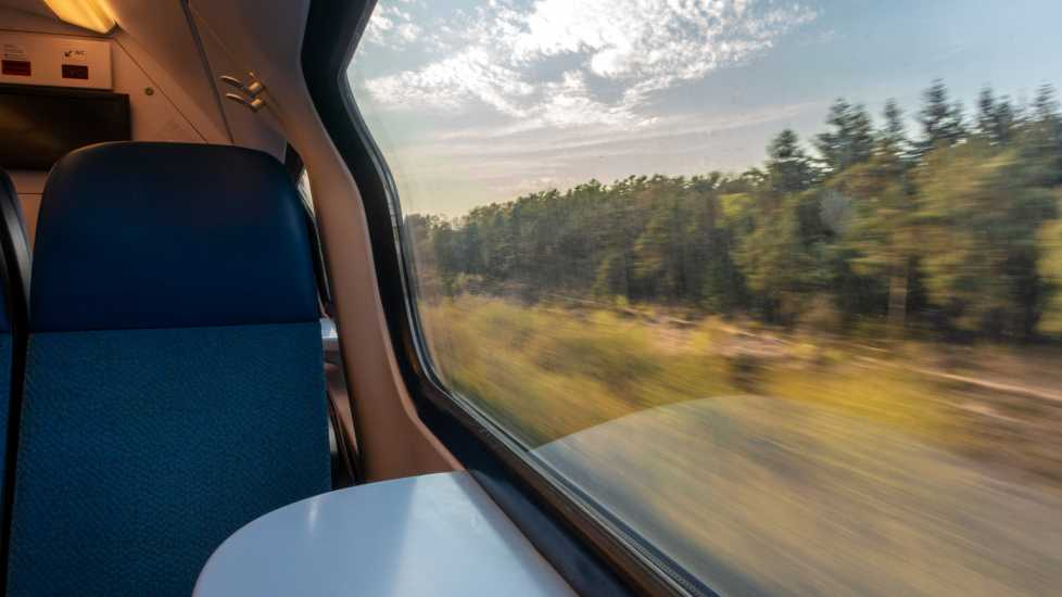 Train seat (Getty Images)