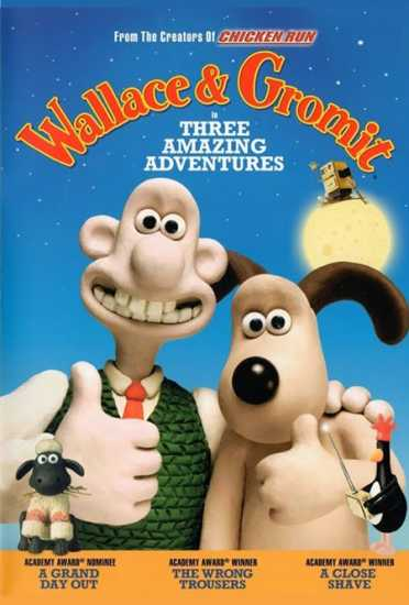 Wallace and Gromit shorts from Aardman Animations