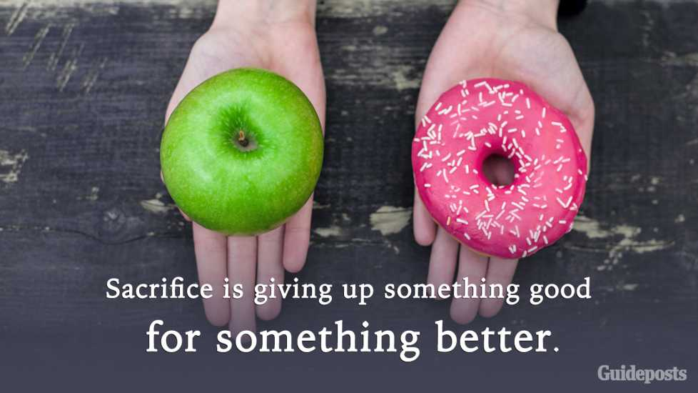 Motivational Quotes for Weight Loss: Sacrifice is giving up something good for something better. better living health and wellness living longer living better