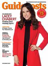 In her cover story for the November 2020 issue of Guideposts, Lacey Chabert, the star of many beloved Hallmark holiday movies, shares why Christmas means so much to her.