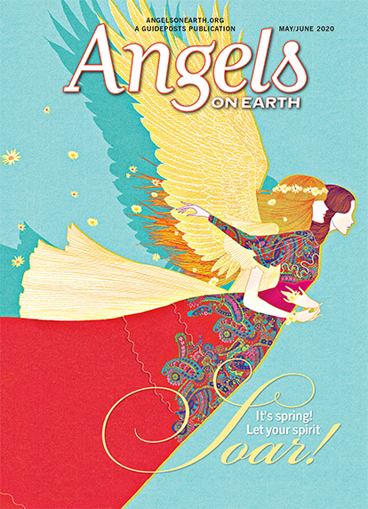 The cover of the May-June 2020 issue of Angels on Earth magazine