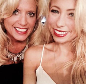 Blogger Michelle Adams and her daughter, Allyson