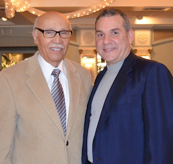 Pablo Diaz with his uncle, the Rev. Dr. Aldofo Carrion