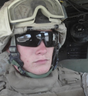 Edie's Marine Corps son, Jimmy Melson