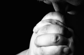 Pray like Jesus. Photo Zoonar RF, Thinkstock.