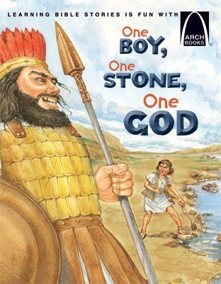 Michelle Adams's book about David and Goliath: One Boy, One Stone, One God.