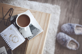 A coffee cup and a sacred moment. Photo by Alena Ozerova, Shutterstock.