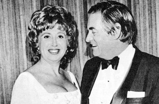 Beverly Sills with her husband, Peter Greenough