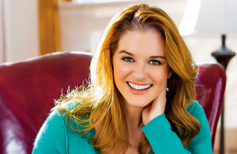 Actress Sarah Drew of Grey's Anatomy