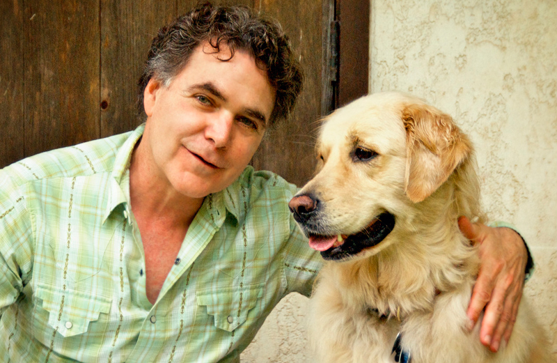 Edward Grinnan, Guideposts Editor-in-Chief,and his dog, Milie