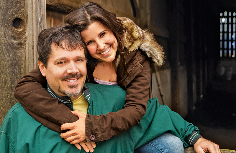 Cheryle McConnaughey with her husband, Rick