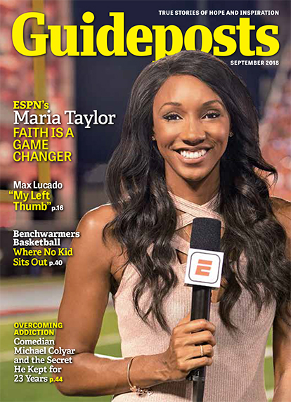 In the September 2018 edition of Guideposts, groundbreaking ESPN reporter Maria Taylor discusses the role that faith has played in her life and in her career.
