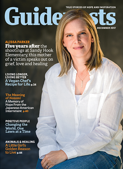 In her cover story for the December 2017 issue of Guideposts, Alissa Parker, who lost her daughter in the Sandy Hook shooting, shares how her faith helped her cope with her grief.