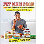 Cover for Kevin Curry's book, Fit Men Cook