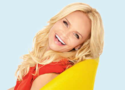 Kristin Chenoweth, whose inspiring story involves her personal faith