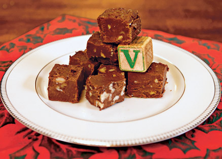A very tasty candy recipe is passed down from aunt to niece to you.