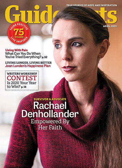 In her cover story for the April 2020 issues of Guideposts, Rachael Denhollander explains how, after years of silence, her faith emboldened her to speak out against a prominent doctor who was abusing young women.