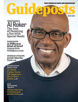 Al Roker on the cover of the May 2019 Guideposts