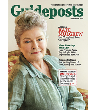 Actress Kate Mulgrew on the cover of the November 2019 issue of Guideposts