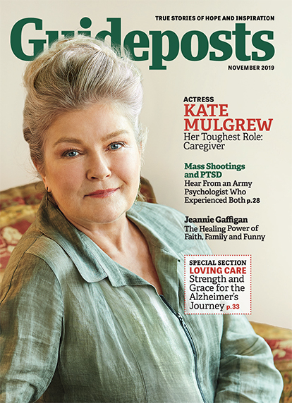 In her cover story for the November 2019 issue of Guideposts, actress Kate Mulgrew recalls the nine years she spent caring for her beloved mother as she dealt with Alzheimer's disease.