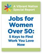 Book cover for Jobs for Women Over 50
