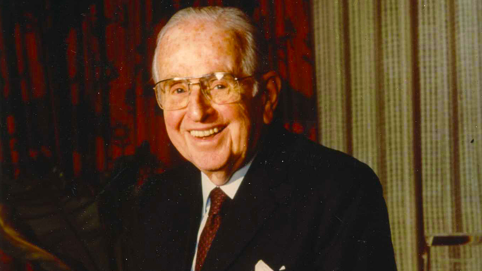 Guideposts founder Dr. Norman Vincent Peale