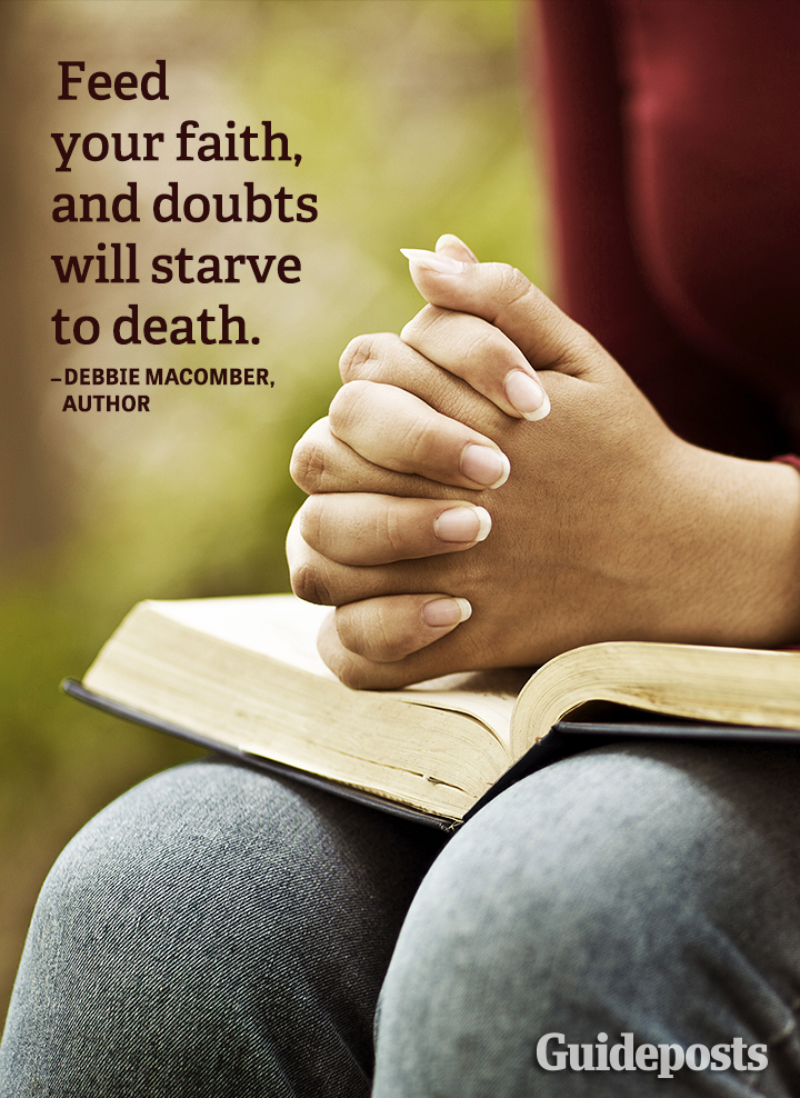 Faith Quote_Debbie Macomber doubt feed