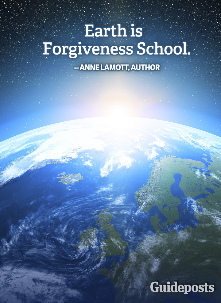 Anne Lamott quote forgiveness earth