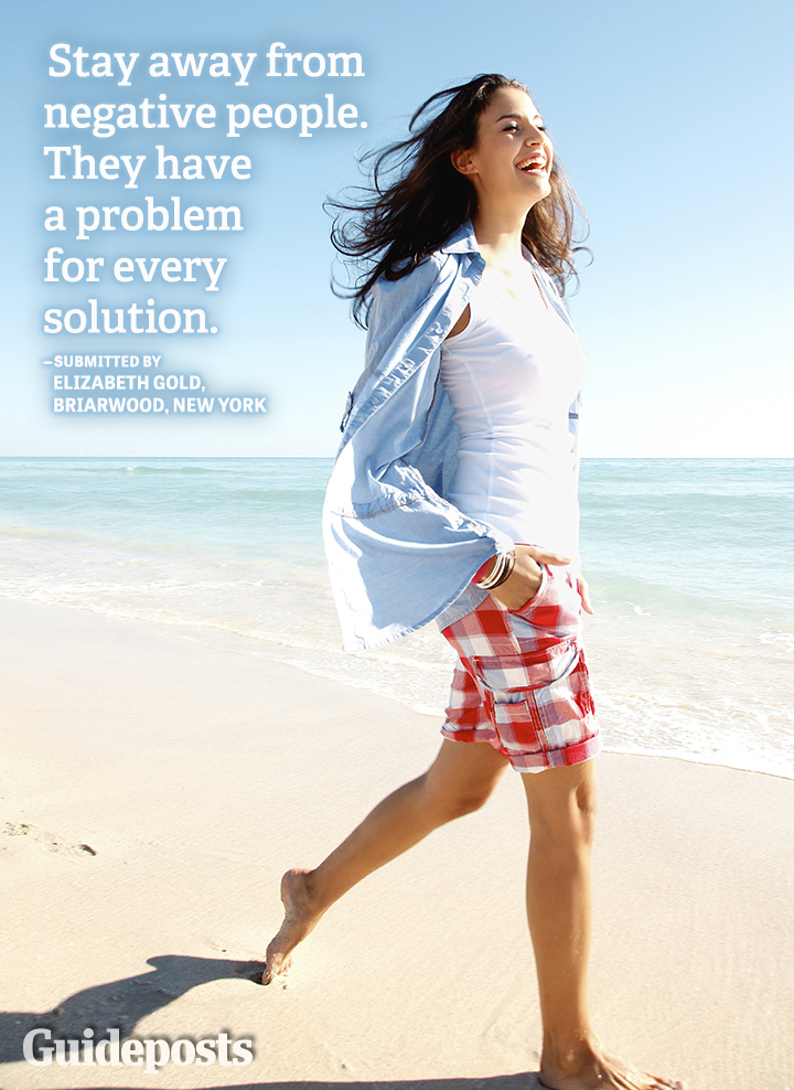 positive quote negative people problem solution