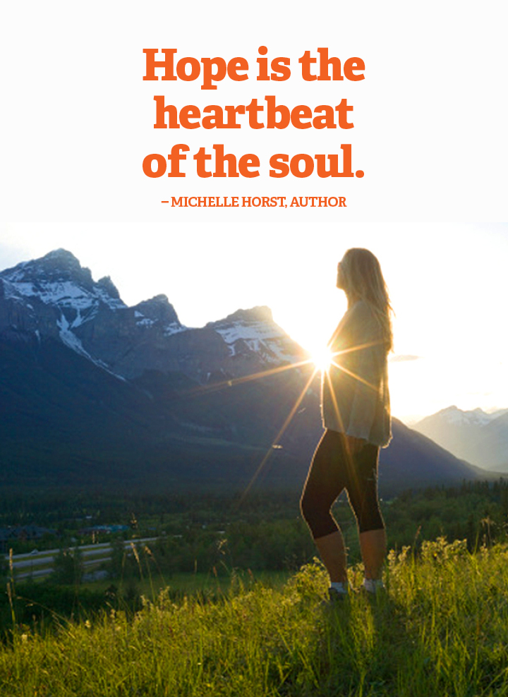 hope quote Michelle Horst heartbeat soul