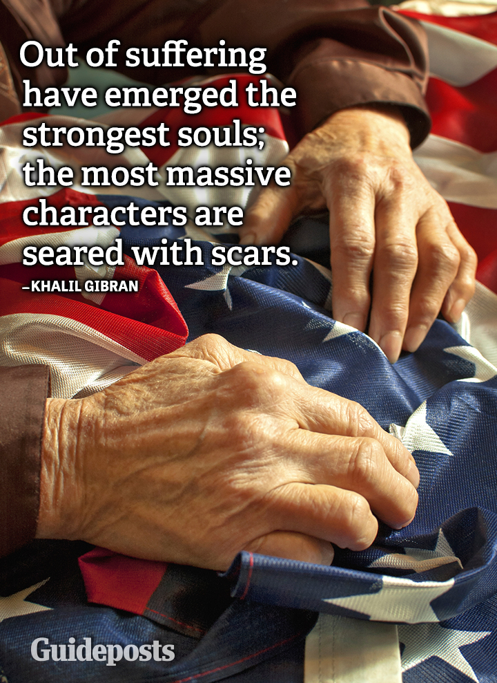 Khalil Gibran quote suffering strongest souls scars