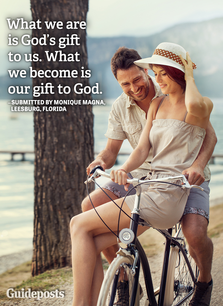 Personal Growth quote God gift