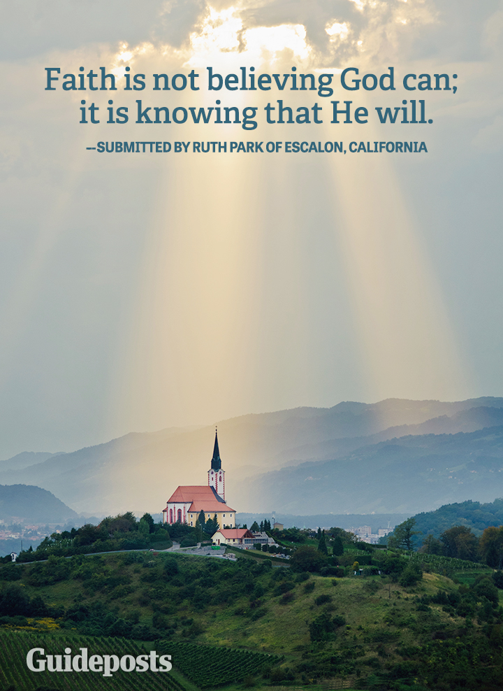 Faith Quote Ruth Hill God Can He Will