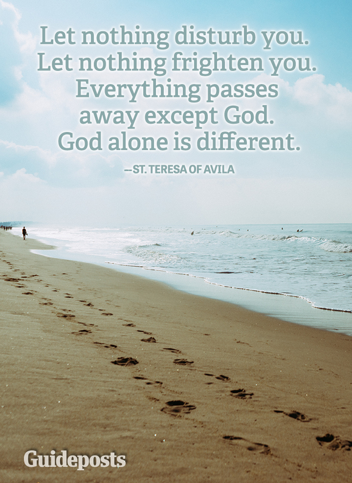 Faith God sufficient St Teresa of Avila