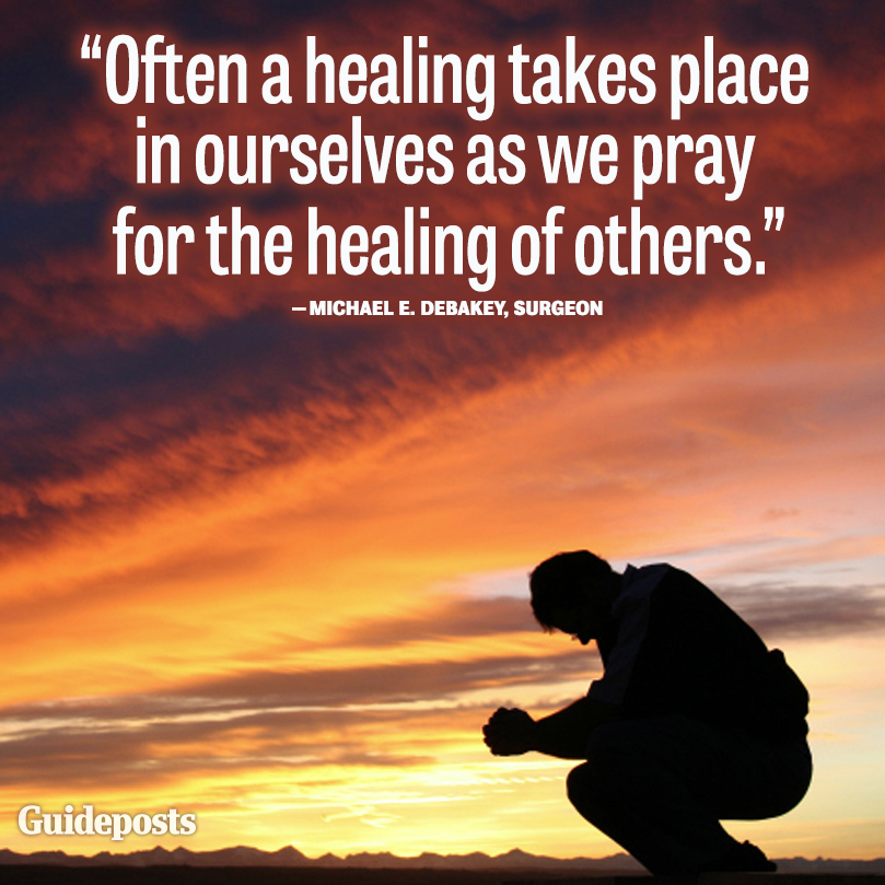 prayer quote by michael e debakey guideposts