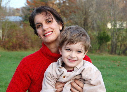 Sabra Ciancanelli and son Henry