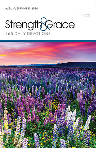 Cover of the August-September 2020 issue of Strength & Grace magazine