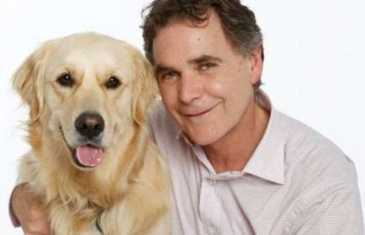 Guideposts Editor-in-Chief, Edward Grinnan and dog, Millie